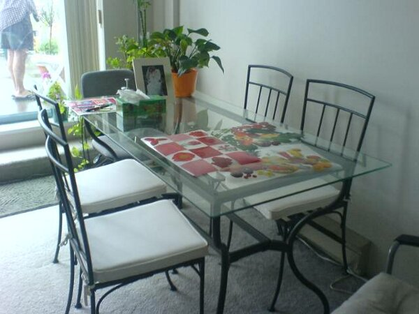 Everything Sell IKEA Glass Dining Table