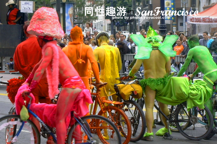 San Francisco Gay Event   Market Street Name of Event: SFLGBT Pride Parade & ...